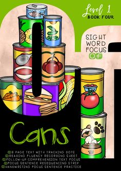 'CANS' SIGHT WORD BOOK (OF)