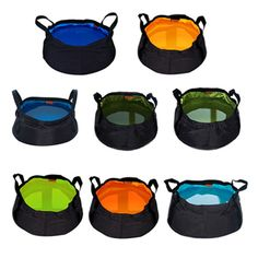 New Portable Folding Washbasin Bucket Wash Basin Foldable Camping Water Pot. Foldable, portable and lightweight. Usage: wash vegetable or face,etc. when traveling, hiking or camping. 1 x Folding Water Pot. Camping Survival, Camping Gear, Outdoor Camping, Camping Water, Survival Kits, Survival Hacks, Outdoor Travel, Backpacking, Bucket Sink