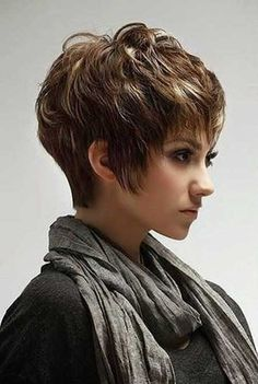 Trendy Short Pixie Hair