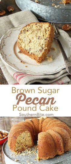 This yummy Brown Sugar Pecan Pound Cake recipe from Southern Bite is so delicious its sure to be a favorite in your family.
