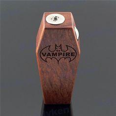 Original cool vampire mod #vampire box mod #vape vampire wooden mod#vampire vape…