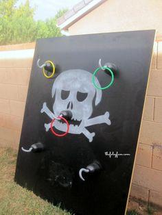 Pirate DIY Birthday Party #thefoleyfamblog