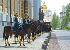 Presidential Regiment – Moscow, Russia.