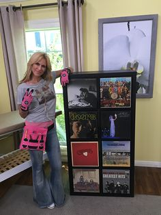 how to create vinyl record storage paige hemmis front shot finished vinyl record