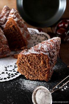Rezept Maronengugelhupf mit Schokolade Hey Foodsister Cupcakes, Cake Cookies, Cupcake Cakes, Nordic Ware, Sweet Cakes, Cakes And More, Chocolate Desserts, Banana Bread, Cake Recipes