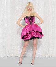 THE CARLYLE STRAPLESS DRESS - Betsey Johnson