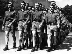 Hitler Youth 1936. It's so terrible what the Nazis made the jungvolk do in the war. Makes Ng young boys go out into war and killing Jews... even turning in their parents if they weren't acting like proper nazis
