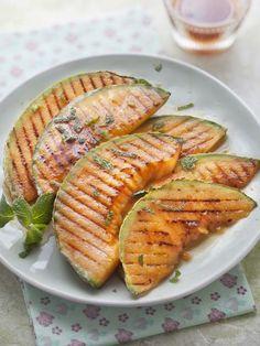 Melon grillé : Recette de Melon grillé - Marmiton