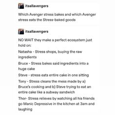 thor stress manages and goes into like therapist mode by trying to help them and make them happy bc he's used to loki acting up and wants to help Funny Marvel Memes, Dc Memes, Avengers Memes, Marvel Jokes, Loki, Thor, Marvel Dc Comics, Marvel Avengers, Marvel Cinematic Universe