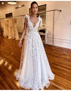 Hottest Berta Wedding Dresses 2020 - Source by janasimon - Best Wedding Dresses, Boho Wedding Dress, Bridal Dresses, Wedding Styles, Wedding Gowns, Ceremony Dresses, Wedding Ideas, Muse By Berta, Berta Bridal