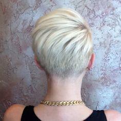 ... short hair, undercut