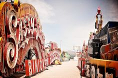 Want to get out to Vegas to visit the neon museum.