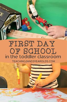 Looking for toddler back to school classroom ideas? Here are some tips and ideas to make that first day successful! #toddler #classroom #firstday #backtoschool #teacher #setup #design #activities #routine #AGE2 #teaching2and3yearolds Infant Toddler Classroom, Toddler Preschool, Preschool Activities, School Classroom, Classroom Ideas, Time Planner, Back To School Hacks, 3 Year Olds, What Activities