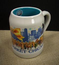 Christkindlmarket Chicago 2016 Ghihwein Mini Beer Stein Mug Souvenir Collectible #ChristkindlmarketChicago