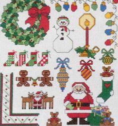 cross stitch patterns | Free christmas cross stitch patterns pictures 4