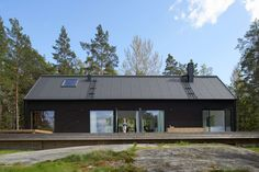 Villa Wallin  On Yxlan in the northern Stockholm archipelago, Erik Andersson Architects has designed the archetypal house. Designed strictly by using the pro...
