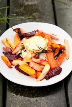 roasted roots and goat's cheese by photo-copy, via Flickr