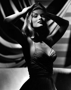 Veronica Lake ~ One of Hollywood's original femme fatales and film noir queen (and the inspiration for Jessica Rabbit)