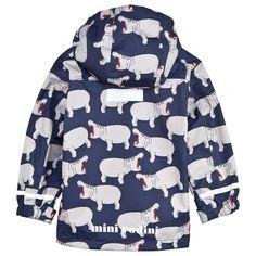 hippo jacket by mini rodini