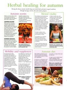 Mind, Body, Spirit Collection - Herbal Healing For Autumn