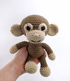 Martin The Monkey Amigurumi Pattern