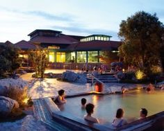 Polynesian Spa--Rotorua, New Zealand  One of the top 10 spas in the world.  Truly amazing!  The hot mineral pools were quite an experience!