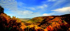 Fall Foliage in the Laurel Highlands! Beginning in October the ridges and valleys come alive with color. Check out Ten Fun Ways to See Spectacular Fall Foliage in the Laurel Highlands list.
