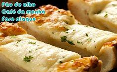 Receita de pão de alho caseiro para a fase ataque da dieta dukan. A receita fica deliciosa e poderá ser consumida em outras dietas.