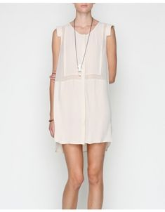 Astoria Shirt Dress in Cream