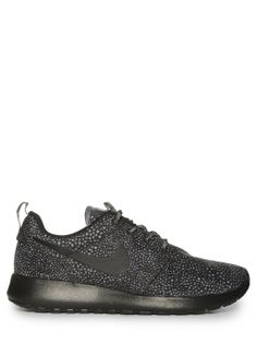 Nike Zapatillas Rosherun Print lobo gris / negro preiswert kaufen