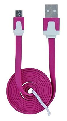 "myLife Sherbet Pink {Tangle-Free Noodle Design} 6' Feet (1.8 Meter) Quick Charge USB 2.0 Micro USB to USB Data Sync Cord for Phones, Cameras, Tablets and GPS Devices ""SEE COMPATIBILITY"" (Durable Rubber Coat) myLife Brand Products http://www.amazon.com/dp/B00NY1UV6A/ref=cm_sw_r_pi_dp_v19tub1CWTA0G"