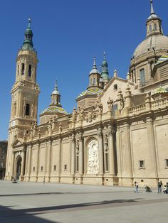 Saragosse. Basilique del Pilar