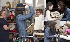 Duchess leaves schoolchildren starstruck in Norfolk