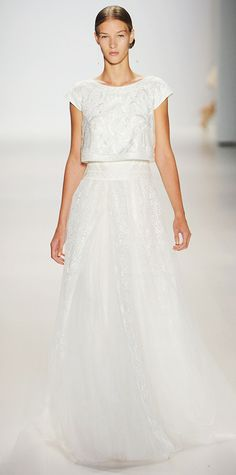 23 Spring 2015 Runway Looks That Can Double as Wedding Dresses - Tadashi Shoji from #InStyle