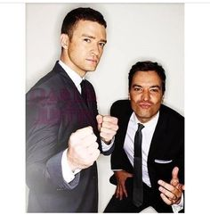 So it's not Man Crush Monday, but I'm pretty sure my husband (if it doesn't end of being Jimmy Fallon of course) is the only man I will I will love more than these two lol!! Tonight! JT and Fallon, Tonight Show.... It's a date!