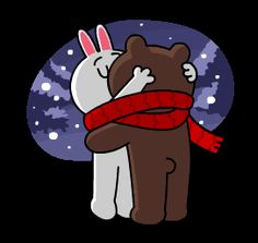Cony Brown, L Love You, Bunny And Bear, Naughty Emoji, Emoji Symbols, Animated Cartoons, Animated Gif, Line Friends, Honey Bunny