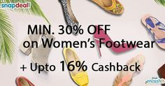 Get minimum 30% off on women footwear like flats heels sandals and more @snapdeal  get upto 16% extra cashback from us >> http://ift.tt/1WPZIXU  #footwear #womenwear #fashion #accessories #flats #heels #sandals #snapdealoffers #snapdealcashback #cashback #cashbackoffers #snapdeal
