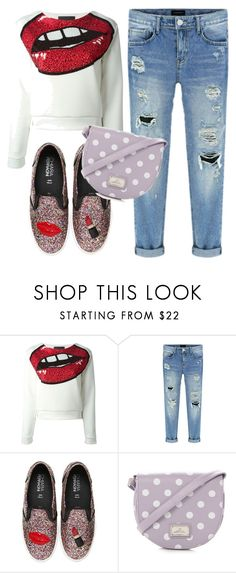 """street style"" by dajan ❤ liked on Polyvore featuring Philipp Plein, Chiara Ferragni, Red Herring, StreetStyle, casual and girly"