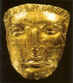 Phoenician mask