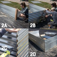 All About Our New Galvanized Steel Raised Beds (Free Plans!) A full tutorial on how to build Galvanized Steel Raised Beds, why they are better than any other types of raised beds, and how to turn them into easy cold frames. Metal Raised Garden Beds, Raised Garden Bed Plans, Building Raised Garden Beds, Raised Planter, Raised Beds, Raised Vegetable Gardens, Raised Gardens, Veggie Gardens, Garden Types