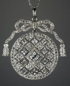 Cartier Paris Garland Diamond Pendant