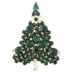 EVER FAITH Tree Art Deco Gold-Tone Brooch Green Austrian Crystal Holiday Gift http://www.amazon.com/dp/B00AFCLVZG/ref=cm_sw_r_pi_dp_y3b1vb1VVCZPT