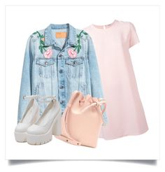 """pretty"" by medvedevalala on Polyvore featuring мода, P.A.R.O.S.H. и Mansur Gavriel"