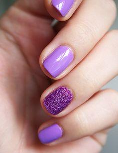 Purple Pearly by Janick • Nea {Jewelry & Wall Wear }, via Flickr