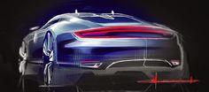 ClementMorice-blogspot Car Design Sketch, Car Sketch, Exterior Rendering, Exterior Design, Drawing Sketches, Sketching, Drawings, Transportation Design, Concept Cars
