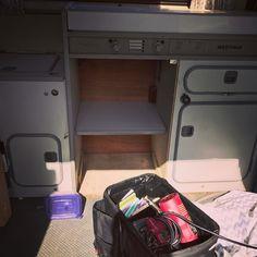 Shelf wrap-up. #vanagon #vanagon #awesomelyweird #dadventure #momandadventure