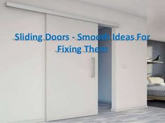 How to fix a common benefit of sticking the sliding door?