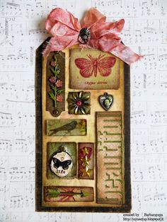 yaya scrap & more - Tim Holtz 12 Tags of 2014 - May