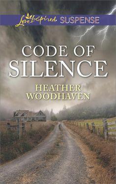 Heather Woodhaven - Code of Silence / #awordfromJoJo #CleanRomance #ChristianFiction #LoveInspiredSuspense #HeatherWoodhaven