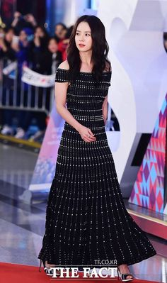 Song Ji Hyo at 2015 SBS Entertainment Awards